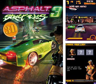 In addition to the game Subway Surfers: Rome (Jungle) for mobile phone, you can download mobile game Asphalt: Street Rules 3 3D for free.