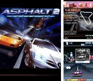 In addition to the game Highway hurricane - The roar of the engine 3D for mobile phone, you can download mobile game Asphalt: Urban GT 2 for free.