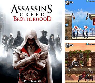 En plus du jeu Les burgers de Bob pour votre téléphone, vous pouvez télécharger gratuitement Le Credo de l'Assassin: la Fraternité, Assassin's Creed: Brotherhood.