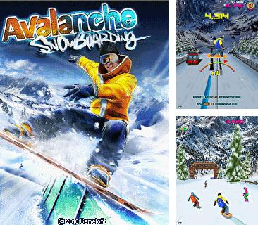 In addition to the game Angry champs for mobile phone, you can download mobile game Avalanche Snowboarding for free.