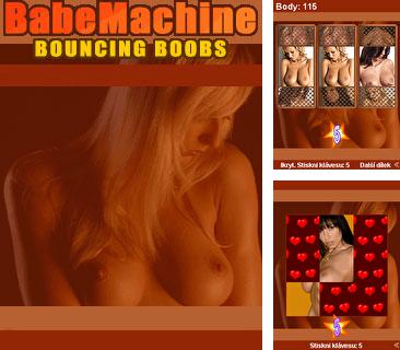 Download free mobile game: Babe machine: Bouncing boobs - download free games for mobile phone.