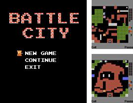 Download free mobile game: Battle City - download free games for mobile phone.