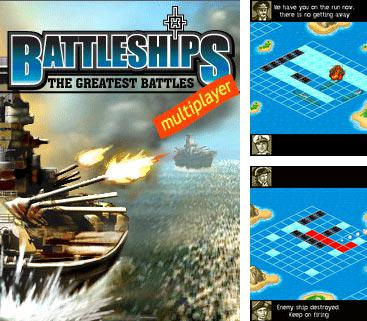 Download free mobile game: BATTLESHIPS:The Greatest Battles - download free games for mobile phone.