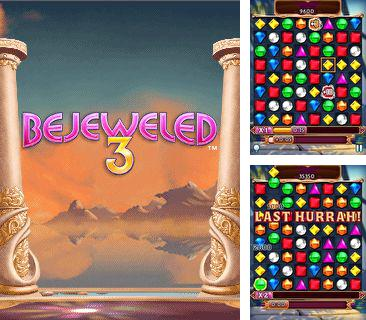 In addition to the game Bookworm for mobile phone, you can download mobile game Bejeweled 3 for free.