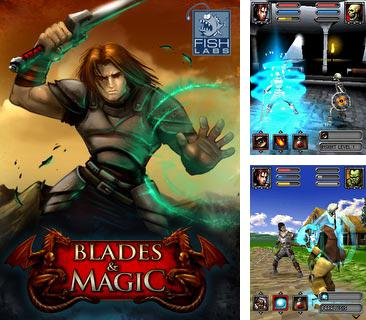 In addition to the game Millionaire 2012 for mobile phone, you can download mobile game Blades and Magic 3D for free.