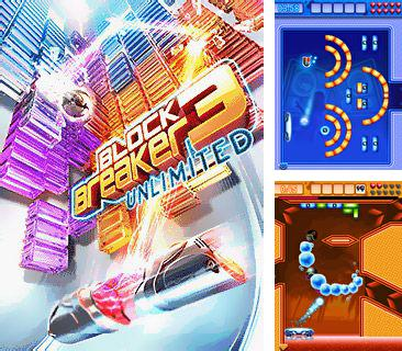 In addition to the game Puzzlings for mobile phone, you can download mobile game Block Breaker 3 Unlimited for free.