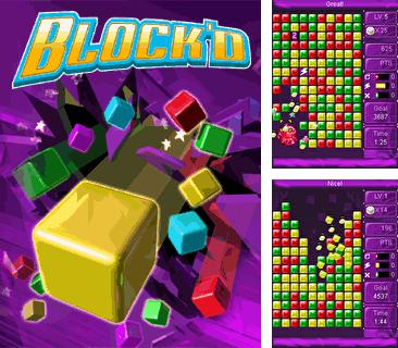 In addition to the game Bad piggies for mobile phone, you can download mobile game Block'D for free.