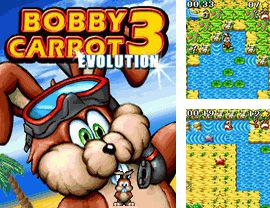 In addition to the game Finger drag for mobile phone, you can download mobile game Bobby Carrot 3: Evolution for free.