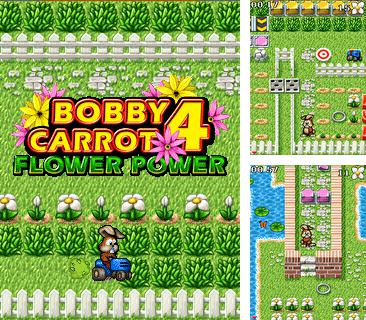 In addition to the game Gumball Journey to the Moon for mobile phone, you can download mobile game Bobby Carrot 4: Flower Power for free.