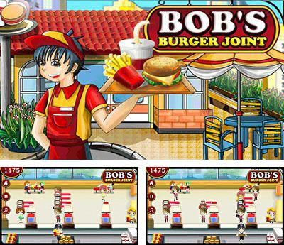 In addition to the game FIFA 2008 for mobile phone, you can download mobile game Bob's burger joint for free.