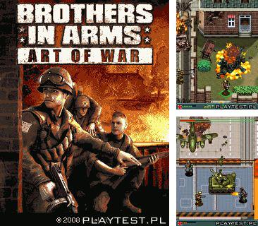 In addition to the game Speedball for mobile phone, you can download mobile game Brothers in arms: Art of War for free.