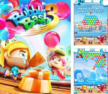 In addition to the game Space Bugs for mobile phone, you can download mobile game Bubble Bash 3 for free.