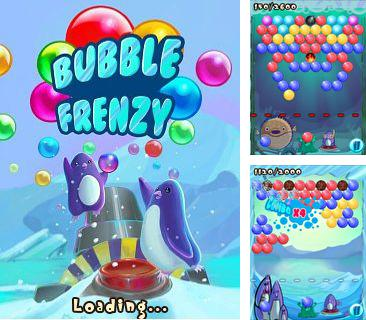 In addition to the game City rush for mobile phone, you can download mobile game Bubble frenzy for free.