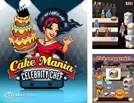 Download free mobile game: Cake Mania: Celebrity Chef - download free games for mobile phone.