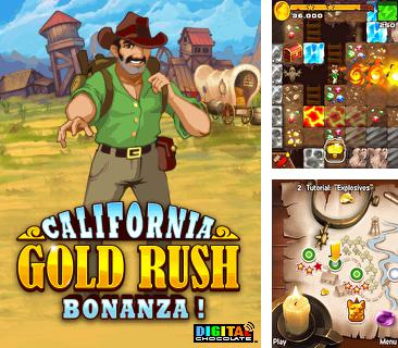 Download free mobile game: California Gold Rush Bonanza! - download free games for mobile phone.