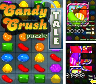 In addition to the game Mortal Kombat 3D for mobile phone, you can download mobile game Candy crush puzzle tale for free.