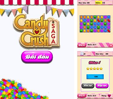 In addition to the game Space Invaders Anniversary for mobile phone, you can download mobile game Candy crush: Saga for free.
