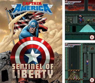 En plus du jeu Les Animaux de l'Extermination de Masse  pour votre téléphone, vous pouvez télécharger gratuitement Le Capitaine l'Amérique: le Premier Vengeur, Captain America: The First Avenger.