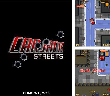 Download free mobile game: Car Jack Streets - download free games for mobile phone.