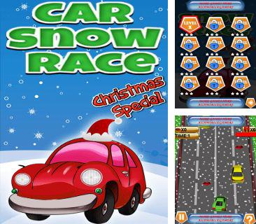 Car snow race: Xmas special
