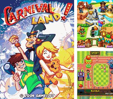 In addition to the game Hyper Blocks Breaker for mobile phone, you can download mobile game Carnival Land for free.
