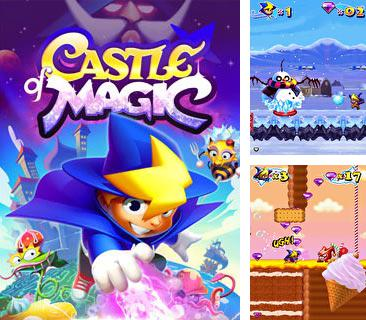 In addition to the game Mudik Driving for mobile phone, you can download mobile game Castle of Magic for free.