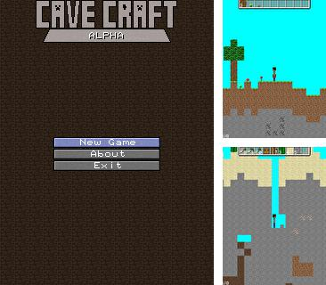 In addition to the game Bubble Pop for mobile phone, you can download mobile game Cave Craft alpha for free.