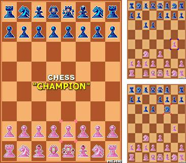 Download free mobile game: Champion сhess - download free games for mobile phone.