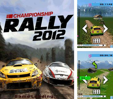 Download free mobile game: Championship Rally 2012 - download free games for mobile phone.