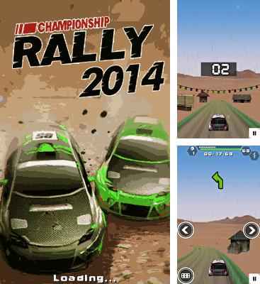 Download free mobile game: Championship rally 2014 - download free games for mobile phone.