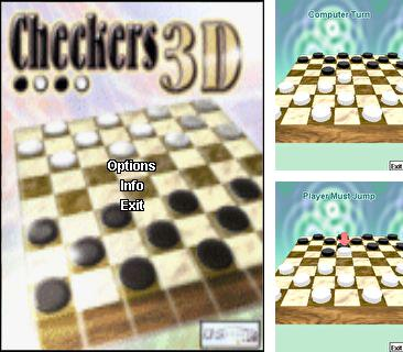 In addition to the game Goozers Fire Frenzy for mobile phone, you can download mobile game Checkers 3D for free.
