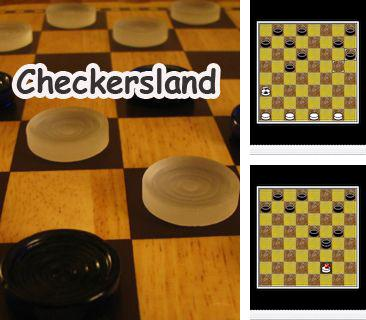 In addition to the game Bubbeleon for mobile phone, you can download mobile game Checkersland for free.