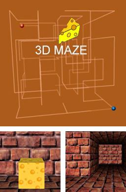 Download free mobile game: Cheese maze 3D - download free games for mobile phone.
