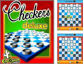 In addition to the game Babe Blocks for mobile phone, you can download mobile game Checkers Deluxe for free.