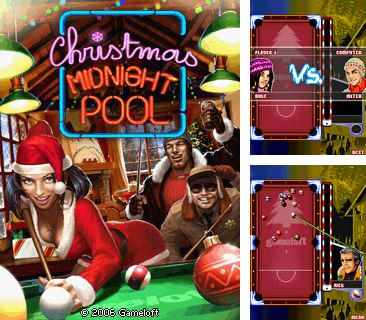 Download free mobile game: Christmas midnight pool - download free games for mobile phone.