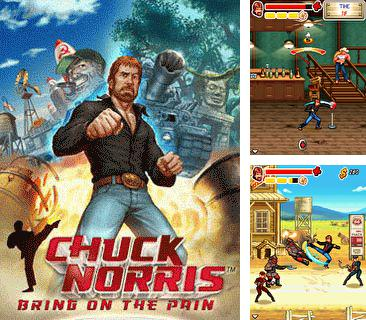In addition to the game Treasure Island for mobile phone, you can download mobile game Chuck Norris: Bring On The Pain for free.