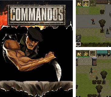 In addition to the game The Sims 2: Castaway Mobile for mobile phone, you can download mobile game Commandos for free.