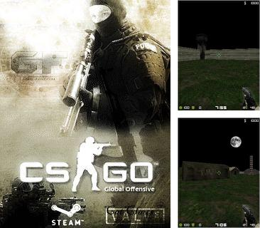 En plus du jeu Kalia: Mission de sauvetage pour votre téléphone, vous pouvez télécharger gratuitement Contre-attaque:Offensive globale, Counter-Strike: Global Offensive (CS:GO).