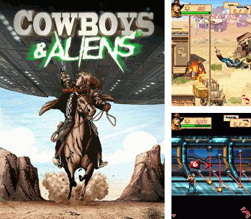 In addition to the game Dirt bike rally for mobile phone, you can download mobile game Cowboys & Aliens for free.