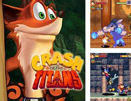 En plus du jeu Les Bagnoles Incinérantes pour votre téléphone, vous pouvez télécharger gratuitement Crash Bandicoot:La Chute des Titans, Crash Bandicoot. Crash Of The Titans.