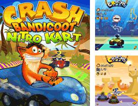 En plus du jeu La Grenouille Affamée pour votre téléphone, vous pouvez télécharger gratuitement La Collision de Bandicoot: Le Karting Nitro 2, Crash Bandicoot: Nitro Kart 2.