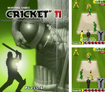 In addition to the game Fruit bomb for mobile phone, you can download mobile game Cricket 11 for free.