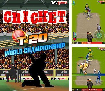 In addition to the game Formula Race for mobile phone, you can download mobile game Cricket T20 World Championship for free.