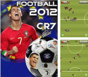 Download free mobile game: Cristiano Ronaldo Football 2012 - download free games for mobile phone.