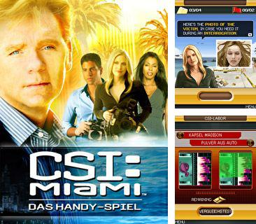 Download free mobile game: CSI Miami the Mobile Game - download free games for mobile phone.