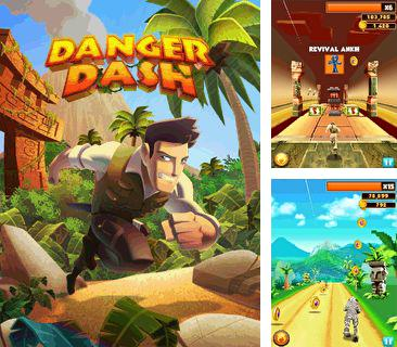 In addition to the game Bookworm for mobile phone, you can download mobile game Danger dash for free.