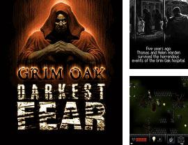 In addition to the game Zombie Quest for mobile phone, you can download mobile game Darkest Fear 2: Grim Oak for free.