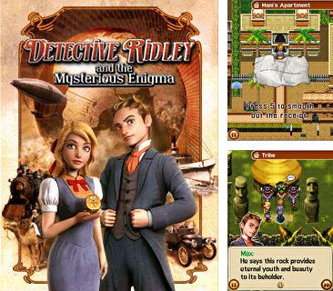 In addition to the game LEGO Racers for mobile phone, you can download mobile game Detective Ridley and the Mysterious Enigma for free.
