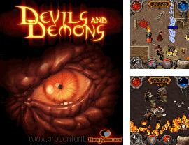 In addition to the game Jewel Quest Solitaire for mobile phone, you can download mobile game Devils And Demons for free.