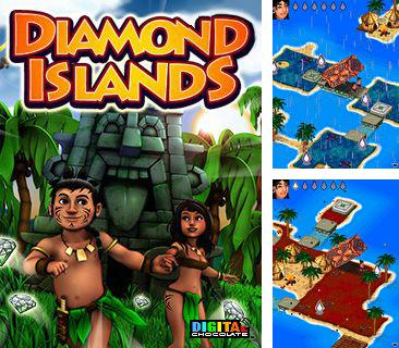 In addition to the game Nokia Racing for mobile phone, you can download mobile game Diamond Islands for free.